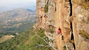 Monteseel Rock Climbing Routes